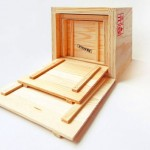 Inbox Mini Cargo Crates As Your Coolest Desk Organizer