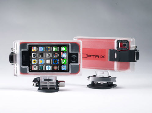 Optrix HD Sport case Transforms iPhone 4S into an HD Action Sport Camera