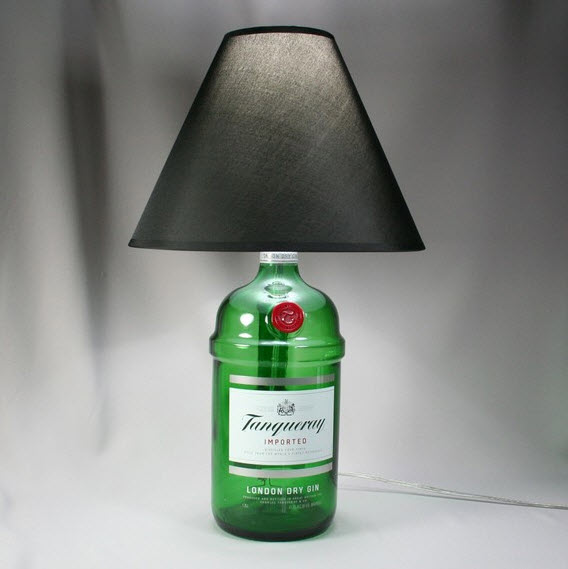 recycled bottle lamps coolest material