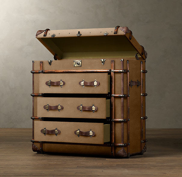Richards Trunks by Restorations Hardware