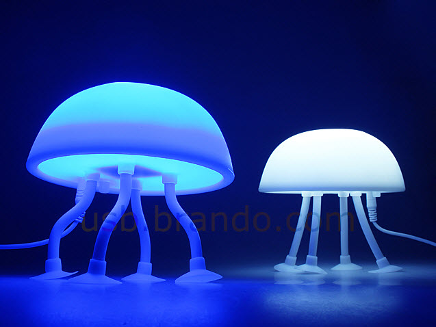 Unique JellyFish Shaped USB Lamp