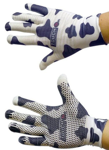 Wizgloves Dalmatian Outdoor Texting, Touchscreen Gloves for Touchscreen Devices