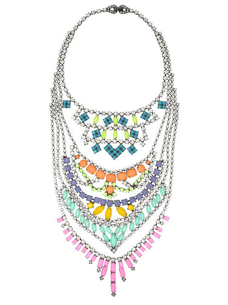 Beautiful Fauve Swarovski Crystal Necklace