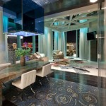 Colorful and Extravagant Penthouse design in Las Vegas
