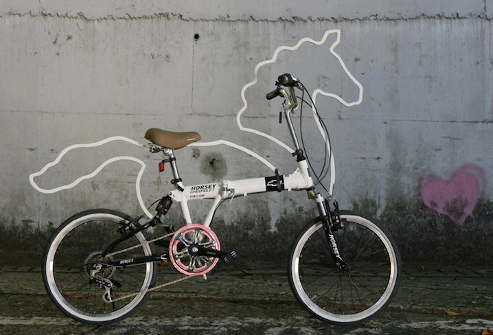 Horsey, Attachable Bicycle Accessory