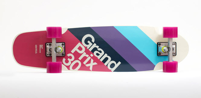 Limited Edition Grand Prix 30 Longboard