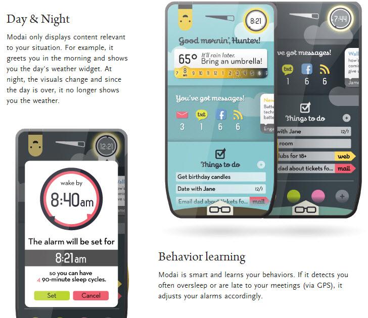 Modai, the Coolest Smartphone Concept