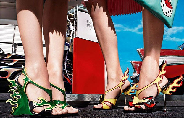 Prada Releases 1950s Cadillac and Hot Rod-Inspired Shoe Collection ...