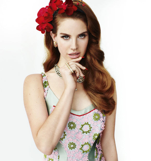 Lana Del Rey New York Times Style Magazine Womens Fashion Spring 2012 and Vogue UK March 2012