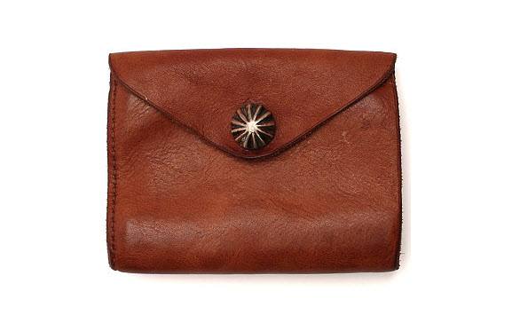 RRL Leather Envelope Wallet