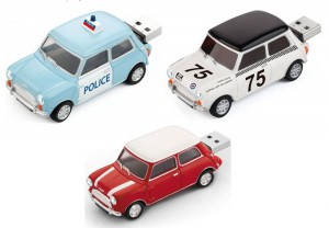 Zero Basic Mini Cooper 4GB USB Flash Drive