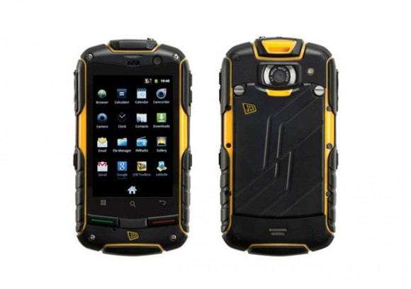 JCB Toughphone Pro Smart Rugged Android Smartphone