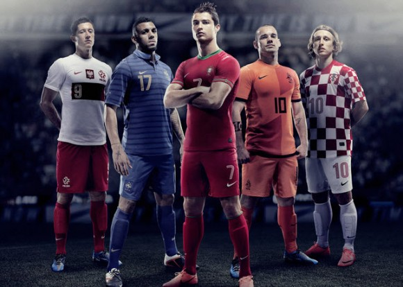 Nike Football Unveils New National Home Kits