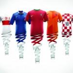 Nike Football Unveils New National Home Kits