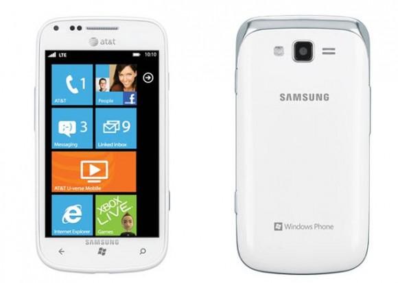 AT&T Samsung Focus 2 Windows Phone Smartphone Announced