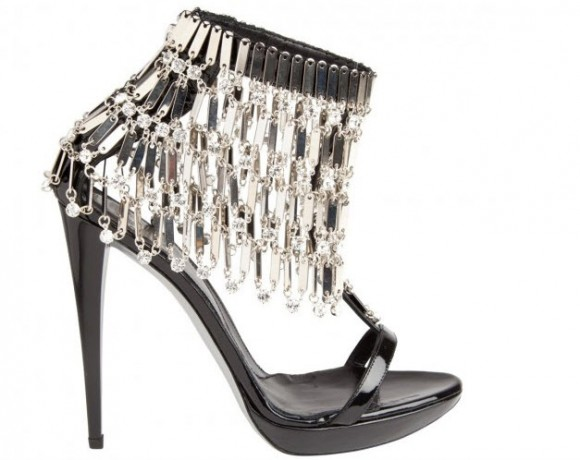 Beautiful Chandelier Stiletto Heel