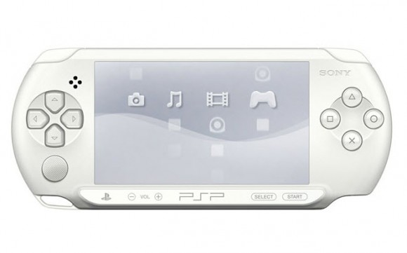 Sony Ice White PSP E1000