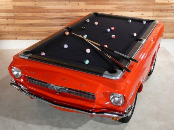 1965 Ford Mustang Replica Pool Table