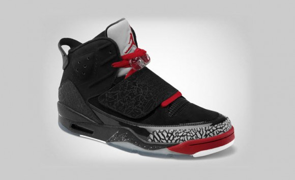 Jordan Son of Mars   Black/Varsity Red Cement Grey White