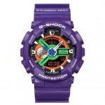 Neon Genesis Evangelion x Casio G Shock GA 110EV and GA 110PS