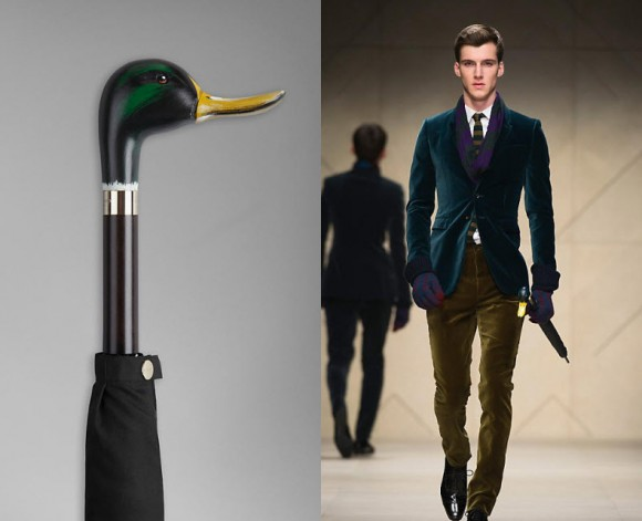 Burberry Handcrafted Umbrellas